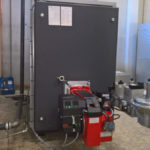 Osby Parca Biogas boiler with Bentone gas burner