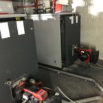 Bio oil burners and boilers for apartment complex