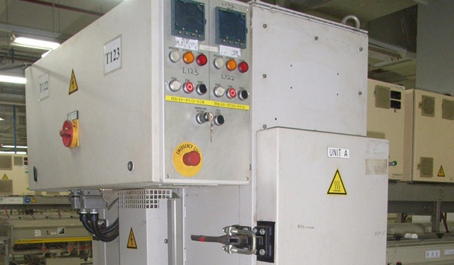 Post curing oven elektronica-industrie NXP